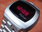 PULSAR P4 CLASSIC TIME COMPUTER LED 1975